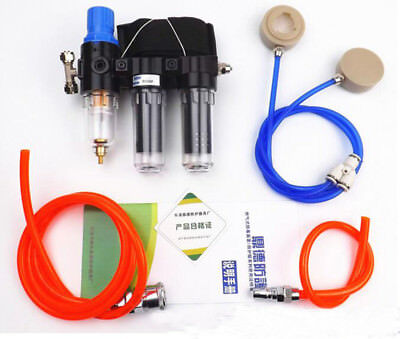 3in1 Safety Spray Paint Supplied Air Fed Respirator System For Gas Mask Series