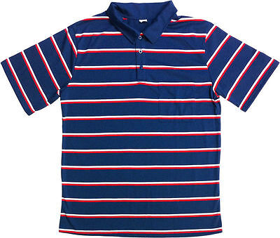 Swamp People Halloween Costume (Troy Landry Swamp people lucky striped blue red polo shirt Halloween costume)