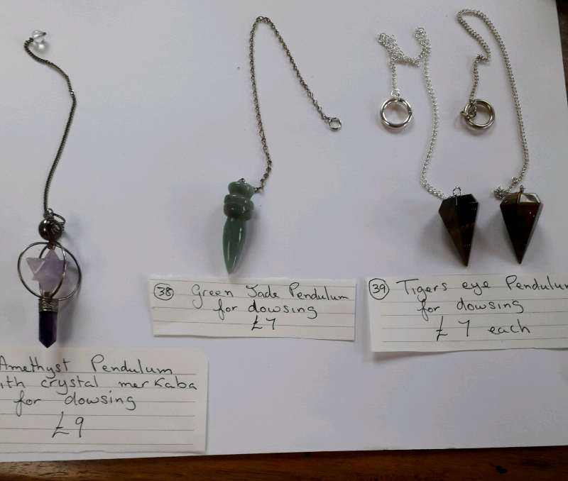 NEW PENDULUMS FOR DOWSING FOR SALE  | in Thornaby, County Durham | Gumtree