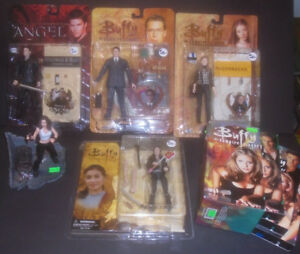 BUFFY ANGEL HELLBOY LOOSE PACKAGED FIGURES TOYS VHS DVD MOVIES