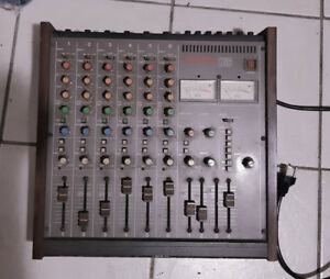 Tascam M-106, 6 Channel Mixer, Quality Preamps, 2 Band Equalizer