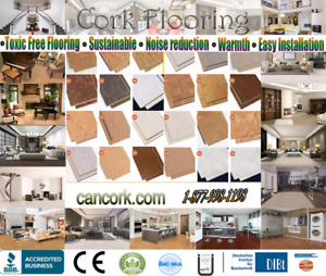 Cork Flooring, Warm Tiles, Quick And Easy To Install