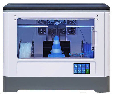 Flashforge Usa Dreamer 3D Printer With Abs Pla Dual Extruders Enclosed Chamber