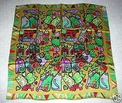 NEW 100% Pure Silk, Patterned Chinese Scarf (#122)