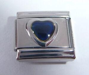 HEART MOOD STONE Italian Charm - Changes Colour fits 9mm Bracelets Moodstone