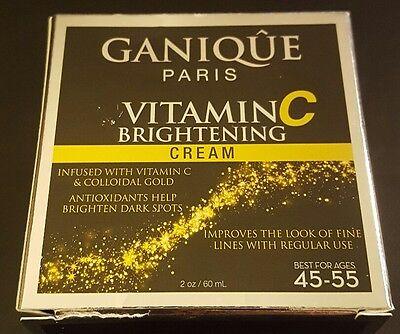 GANIQUE PARIS VITAMIN C Brightening CREAM Best for ages 45-55 2 Oz/60mL