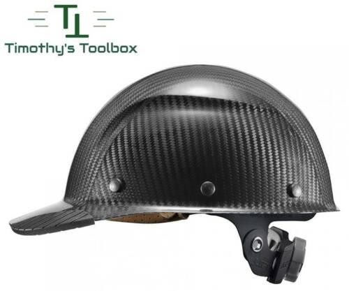Lift Safety Dax Carbon Fiber Cap Hard Hat Gloss Black