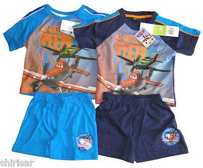 Disney Planes kurzarm Pyjama für Jungen NEU kurzer Schlafanzug Kleinkind  ()