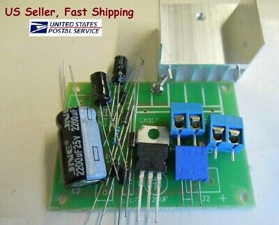 Lm317 Adjustable Power Supply With Rectifier Diy Kit Acdc Input- Us Seller Fast