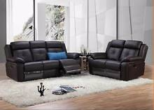 【Brand New】Lygon Real Leather Recliner Sofa 1S+2S+3S Nunawading Whitehorse Area Preview