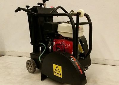 Packer Brothers 18 Walk-behind Concrete Saw 13hp Honda Gx390 Pb18 Walkbehind