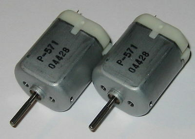 2 X Pc-280 Motors - 12 V Car Door Lock / Mirror Motor - Nichibo Automotive Motor