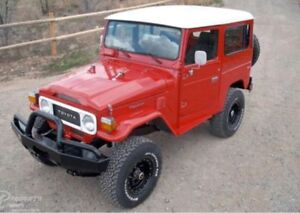 BUYING SELLING SWAPPING FJ40