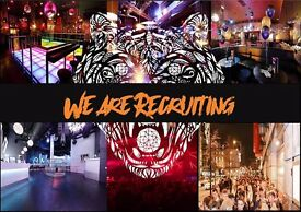 Tiger Tiger Manchester are hiring!