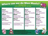 Moo Music classes coming to Cambuslang