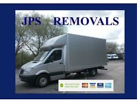 •JPS REMOVALS • MAN & VAN • VAN HIRE WITH DRIVER **we do not collect waste of any kind**