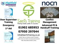 SainTs Training Ltd, training provider