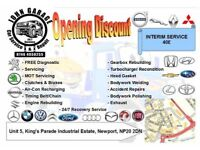 Vehicle Service & Accident Body Repair and Spraying