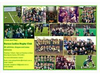 Get fit, learn a new sport and make friends at Barnes Ladies Rugby team