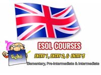 ESOL Courses.Private English courses one to one ( £10 per hours )+ Free Lessons