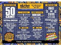 Mutiny Festival Tickets - VIP Weekend ticket X2 £80 EACH