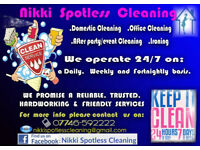 NIKKI SPOTLESS CLEANING SERVICES
