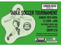 Subbuteo Tournament in North Wales