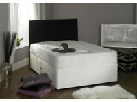 ***One year guarantee*** Brand New Double Divan Bed Base With Luxury 1000 Pocket Sprung Mattress