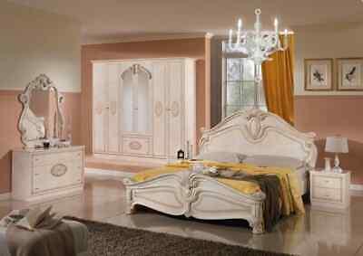ORIGINAL AMALFI HIGH GLOSS WITH 6 DOORS ITALIAN BEDROOM SET SUMMER OFFER