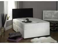 **GET YOUR ORDER TODAY* New Double or King Divan Bed and Pocket Sprung Mattress