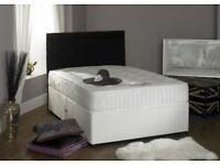 🛑⭕DELIVER 7 DAYS A WEEK 🛑⭕ 4ft6 Double Divan Beds for Sale- See Description for different Mattress