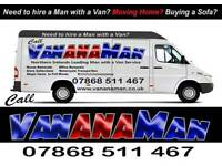Man with a Van for Hire - 24/7 - Removals - Collections - Motorcycles