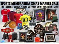 Authentic Sports Memorabilia Christmas Clearance Day!