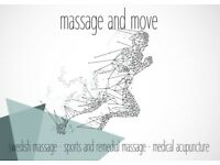 Mobile Sport and Remedial Massage Service in Perthshire