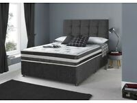 Free Delivery 🚚 Double 4FT6 & Small Double 4FT Bed & Mattress
