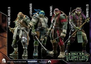 TMNT tortues ninja 1/6 de threezero, neuves