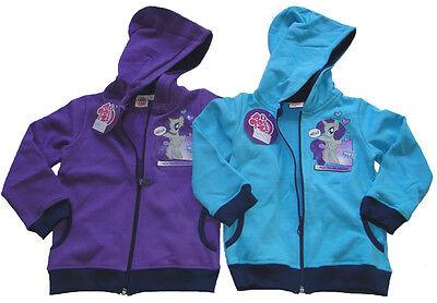 My little Pony Sweatshirtjacke langarm Shirt mit Kapuze Mädchen Jacke Sweatshirt ()