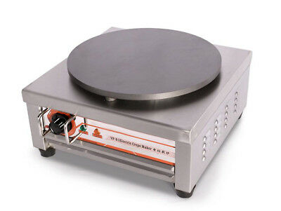 Electric Single Head Crepe Maker Non-stick Pancake Machine Stainless Steel 220v