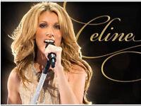 Celine Dion London Concert. Excellent seats