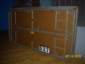4X8  PLATFORM PORTABLE STAGEs RISERS, corner sections too - CAN SHIP!
