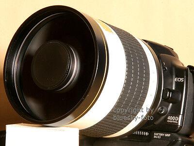 Supertele 800mm für Sony Alpha 33 35 37 38 55 57 58...