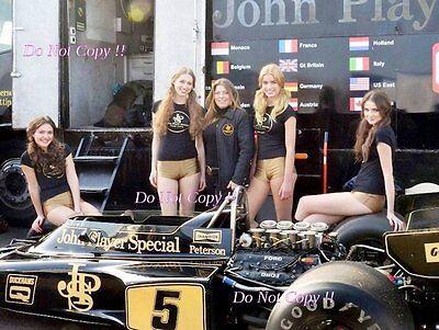 Ronnie Peterson JPS Lotus 72E British Grand Prix 1975 Photograph 3