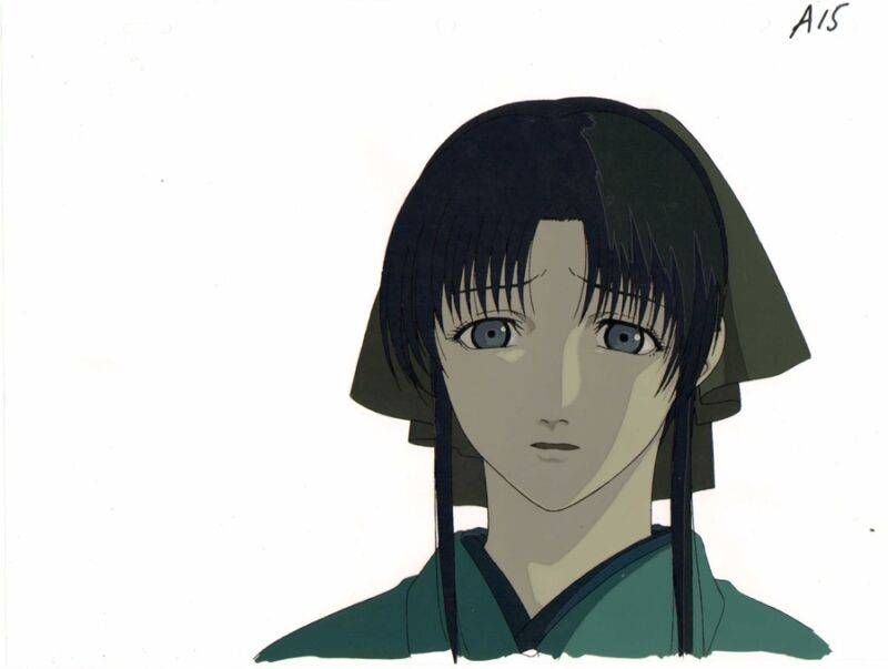 Anime Cel Rurouni Kenshin OVA #1
