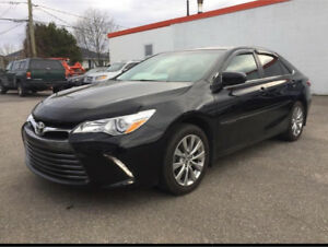 2016 Toyota Camary XLE *CLEAN TITLE *