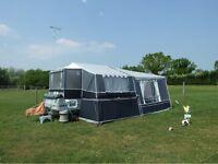 Pennine countryman deluxe camper trailer 2010