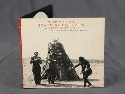 Hungarian Village Music from the 20th Century CD Tukros Zenekar 2000 FolkEuropa