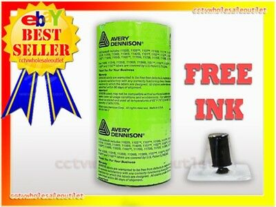 Genuine Monarch 1130 Fluorescent Green Labels 10 Rolls