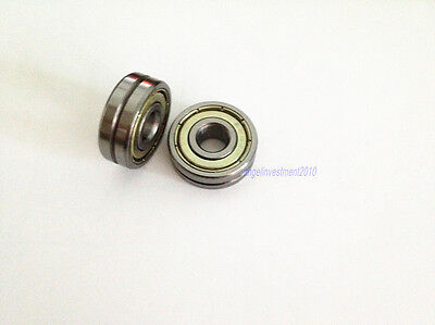 10pcs 5mm 624vv 4135 V Groove Sealed Ball Bearings Vgroove Bearing