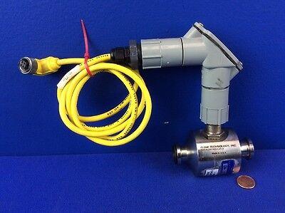 Flow Technology Sa-12t1ywuleg-5 Sanitary Turbine Flowmeter