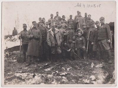 Echtes Original April 1916 UKRAINE Soldaten in Browary, 1. Weltkrieg